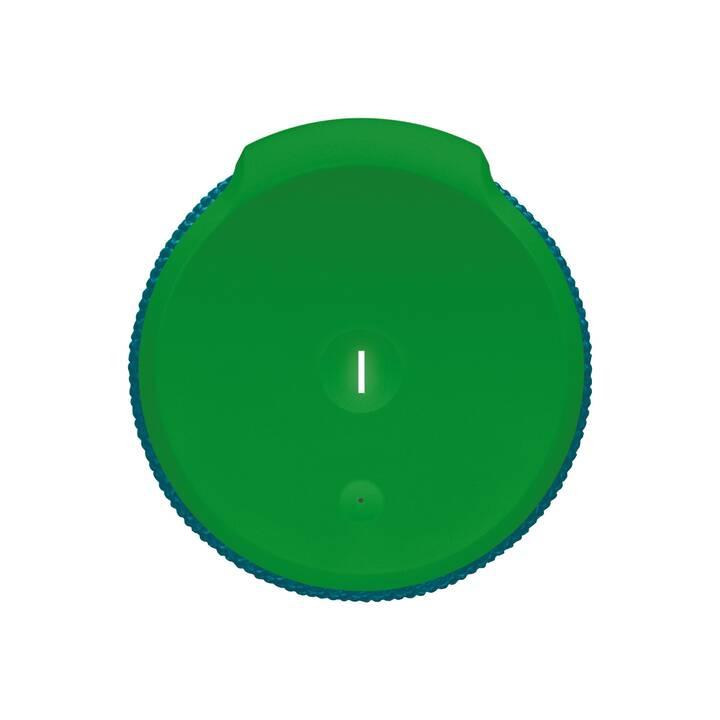 LOGITECH Boom 2 (Bluetooth, Greenmachine, Verde, Blu)