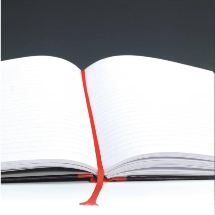 Taccuino OXFORD Collegeblock, A4, plaid, nero rosso
