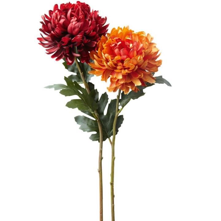 LEONARDO Figura Chrysantheme (Rosso, Arancione)