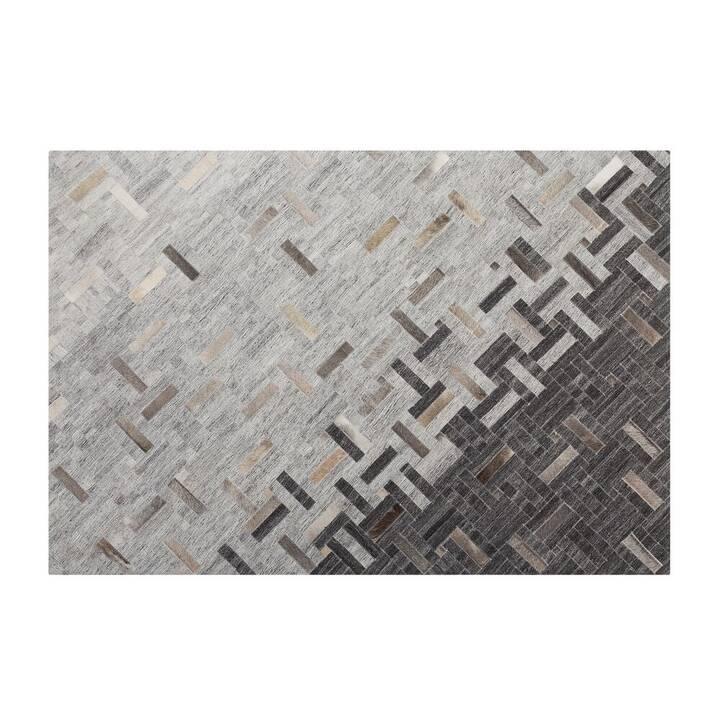 BELIANI Teppich Dara (160 cm x 230 cm, Braun, Beige, Grau)