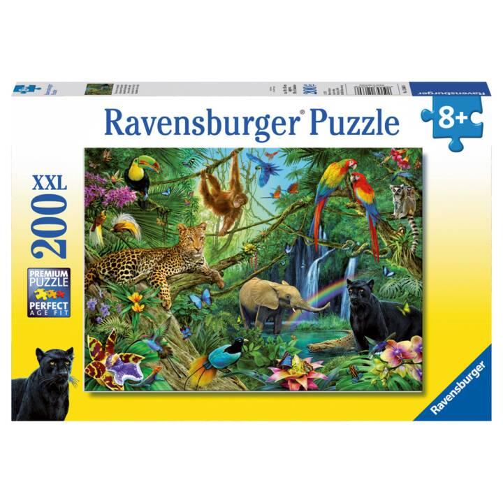 RAVENSBURGER Animali nella giungla XXL, 200 pezzi