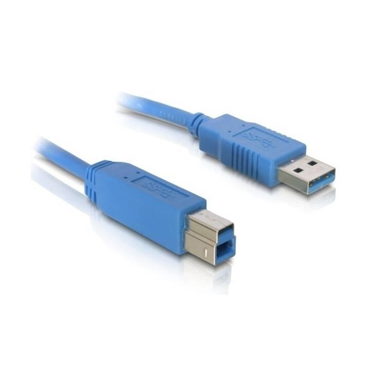 DELOCK Cavo USB (USB Tipo-B, USB Typ-A, 1 m)