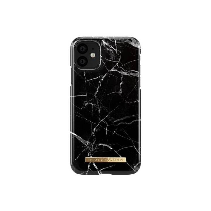 IDEAL OF SWEDEN Backcover Black Marble (iPhone 11, Nero)