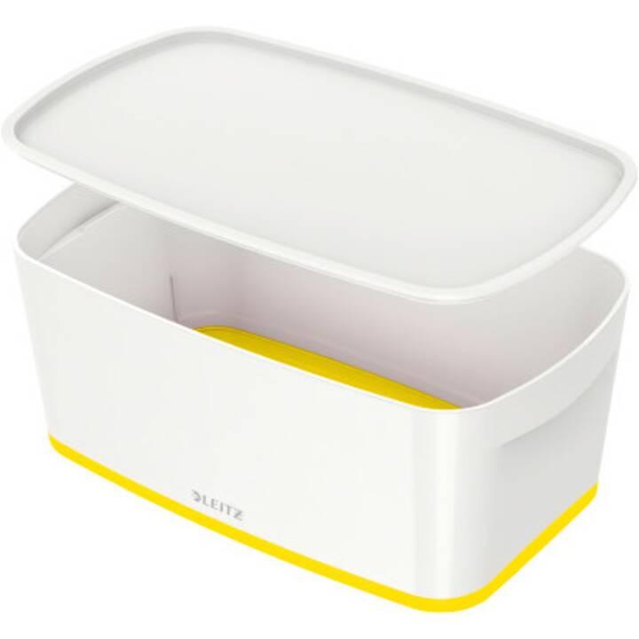 LEITZ MyBox Ablagebox (Weiss, Gelb)