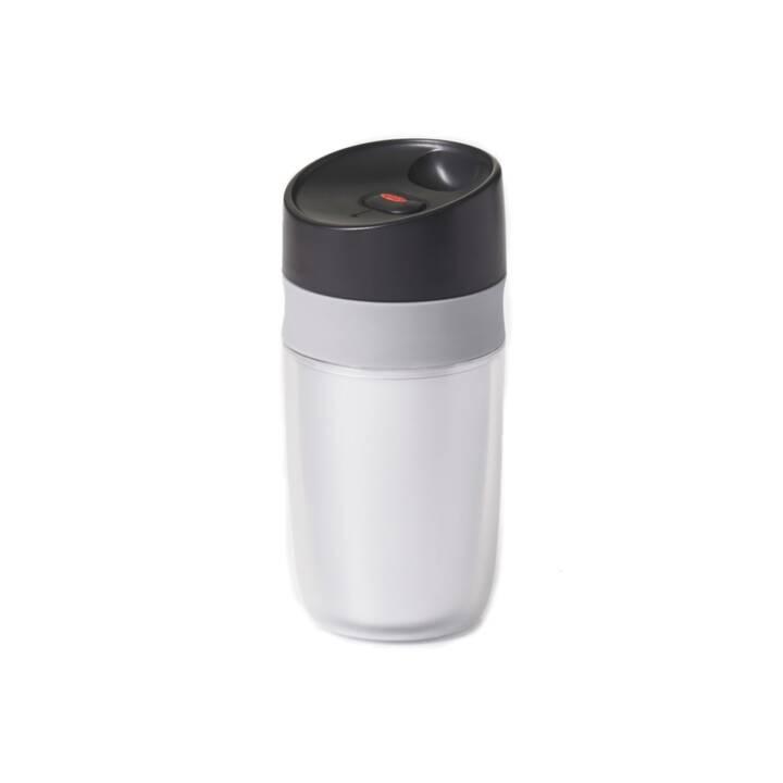 OXO Borraccia Single Travel Mug (Argento, 0.28 l)