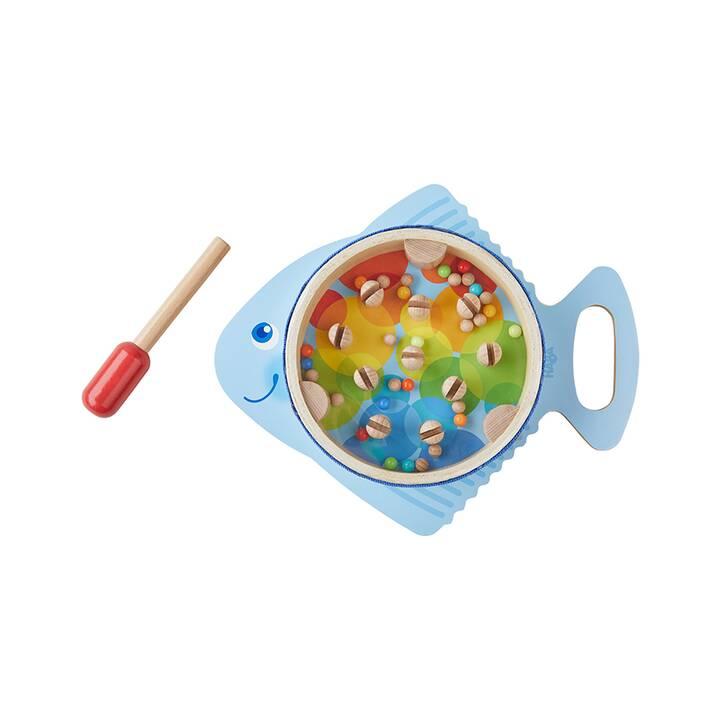 HABA Musizieren Trommelfisch (2 x, Blau, Mehrfarbig)