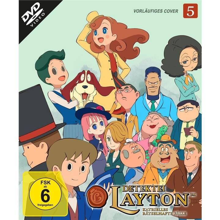 Detektei Layton - Katrielles rätselhafte  Fälle - Vol. 5 (DE, JA)
