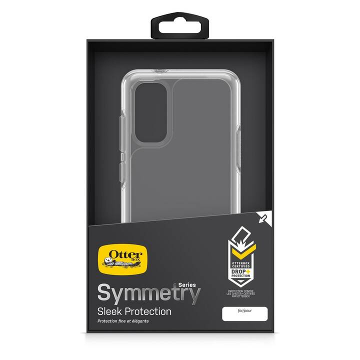 OTTERBOX Backcover Symmetry (Galaxy S20, Transparent)