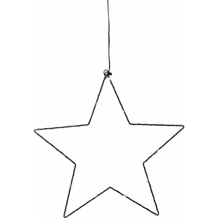 STAR TRADING Sparkling Stern Fensterbeleuchtung (LED, 37 cm)