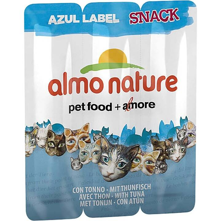 ALMO NATURE Snacks Azul (Sticks, Tonno, 15 g)