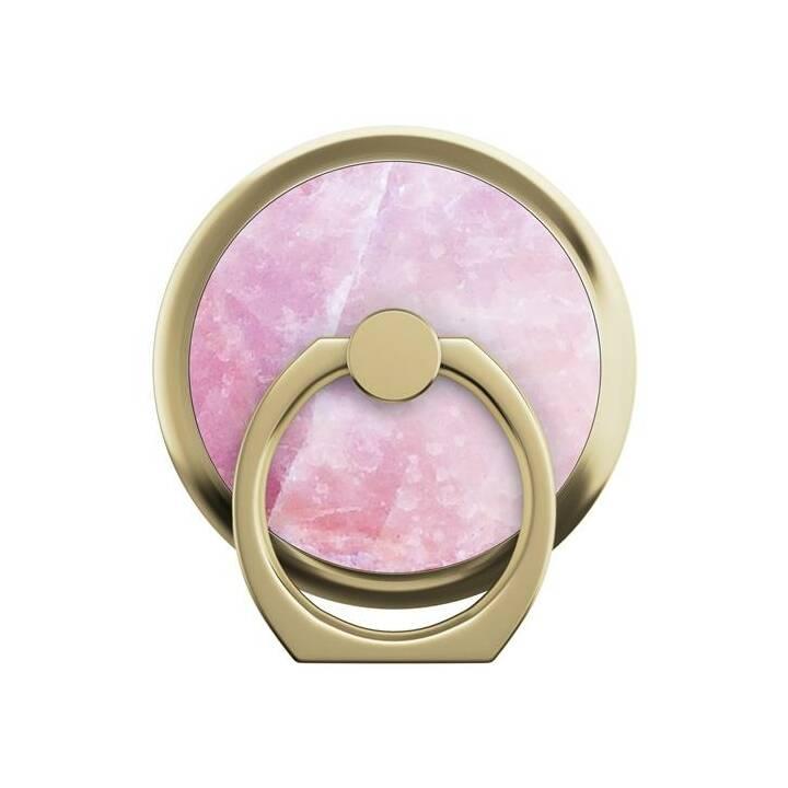 IDEAL OF SWEDEN Pillion Pink Marble Fingerhalter (Gold, Rosa)