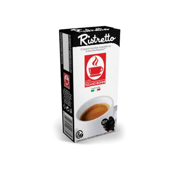 TIZIANO BONINI Kaffeekapseln Ristretto (10 Stück)