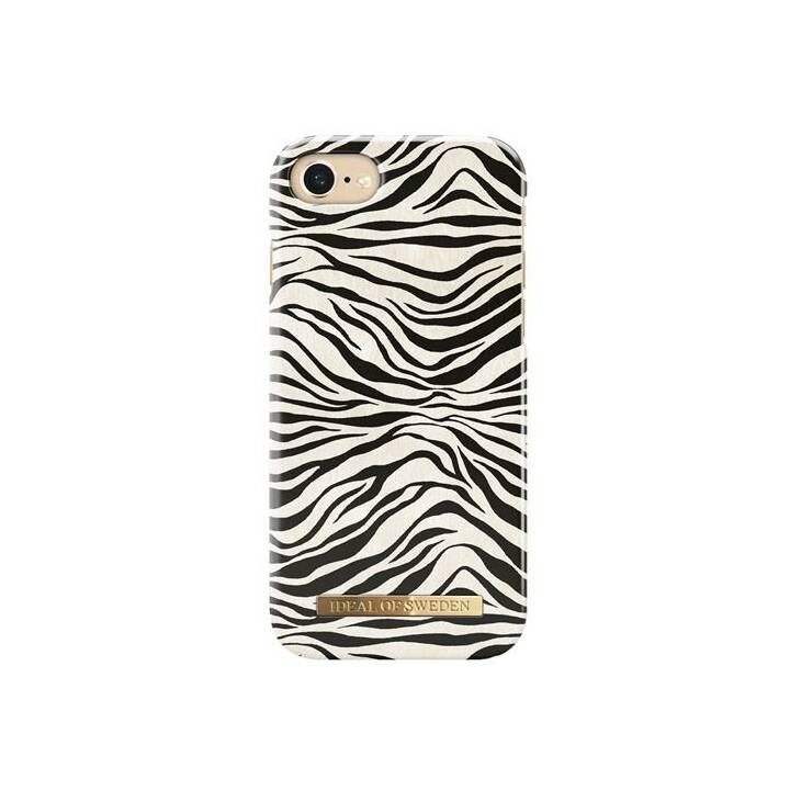 IDEAL OF SWEDEN Backcover Zafari Zebra (iPhone 8, iPhone SE, iPhone 6, iPhone 6s, iPhone 7, Weiss, Schwarz)