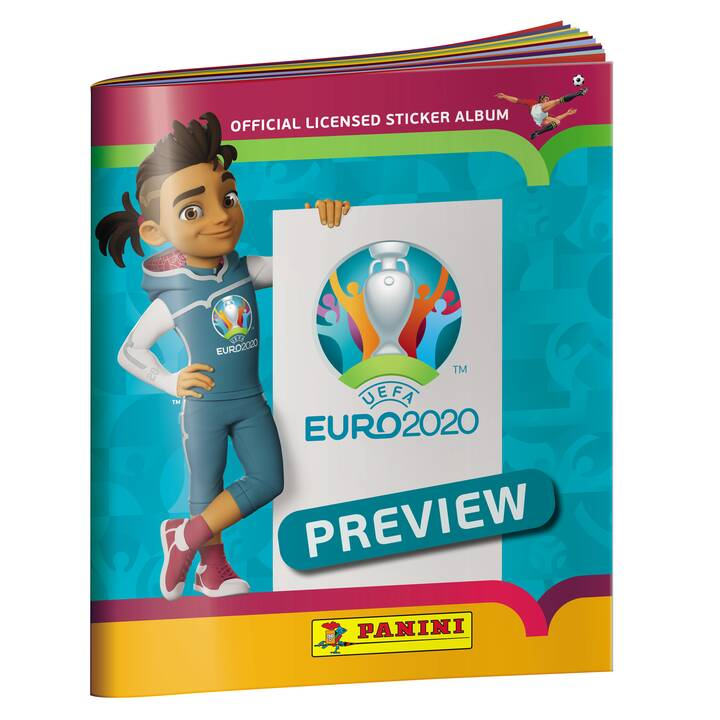 PANINI Uefa Euro 2020 Official Sticker Album Preview Edition Collections (Sport)