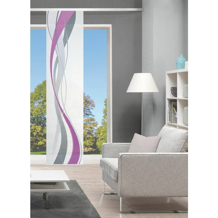 STOTZ DECOR AG Vorhang Crosso (60 cm x 260 cm)
