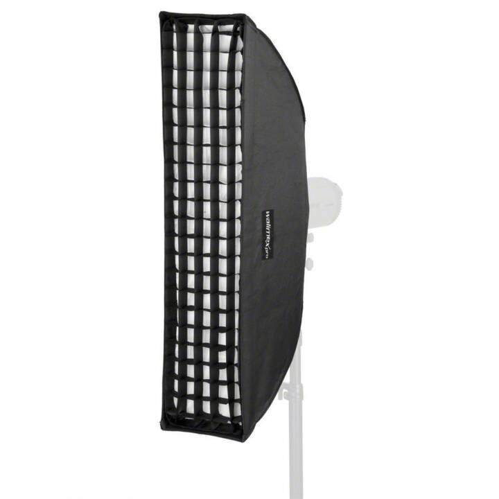 WALIMEX Softbox (Silber, Schwarz, Weiss, 250.0 x 900.0 mm)