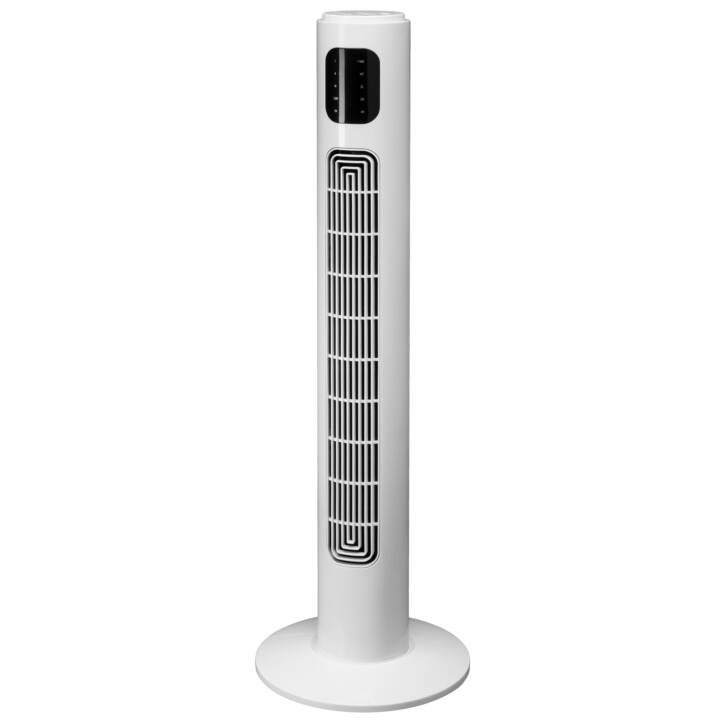 INTERTRONIC Ventilateur tour TF3601TR-S (Blanc, 45 W)