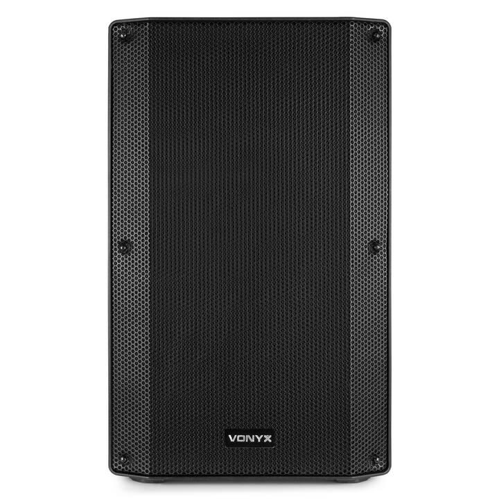 VONYX VSA15 (Enceinte verticale, Noir)