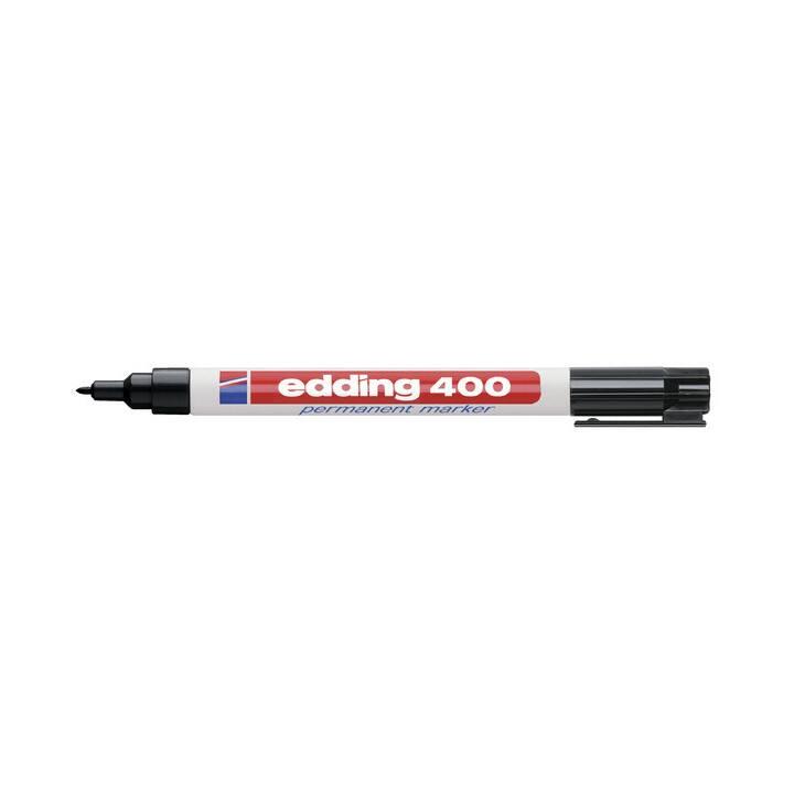 Marcatore permanente EDDING 400 nero