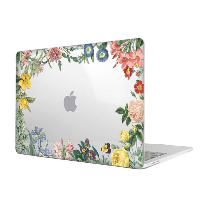 "EG MTT Cover per Macbook Air 13"" (2018) - fiori"