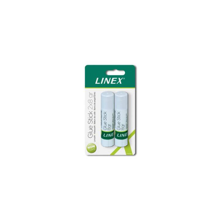 LINEX A/S Colle en bâton 2 x 8g