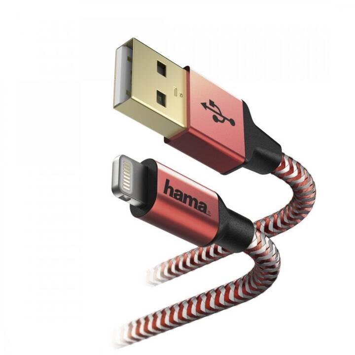 HAMA Cavo USB (USB Typ-C, Lightning, 1.5 m)