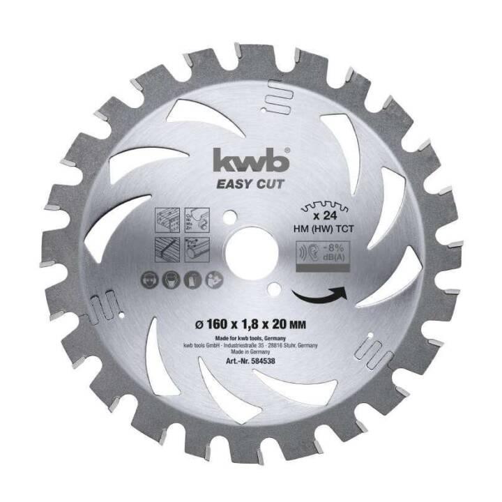 Lama per sega circolare KWB Easy Cut HM