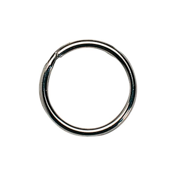 Portachiavi RIEFFEL, 35 mm, argento, 100 pz.