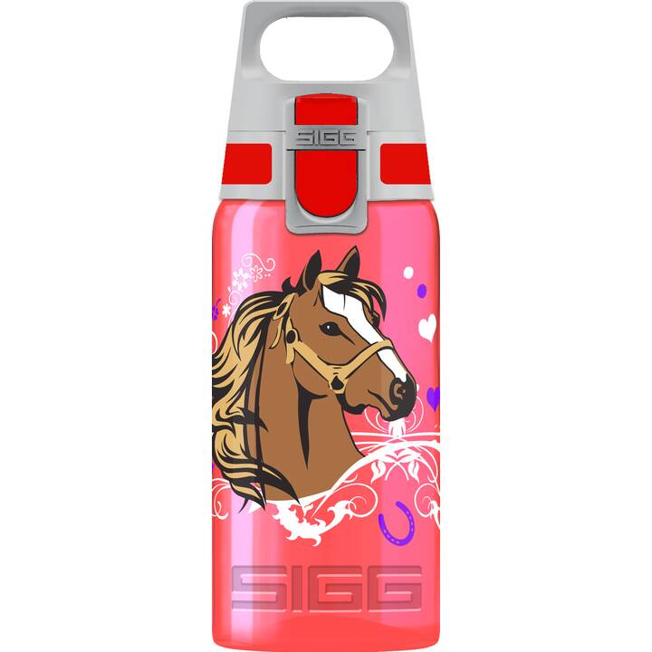 SIGG Gourde VIVA ONE Horses (500 ml, Orange, Pink)