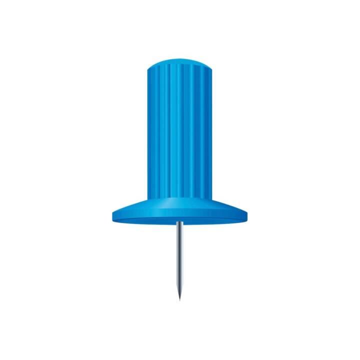 Aghi EXACOMPTA 7mm azzurro chiaro 25 pezzi
