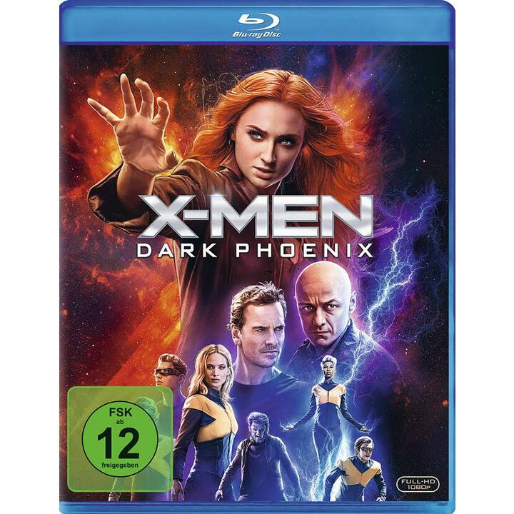 X-Men: Dark Phoenix (DE, EN, FR, ES)