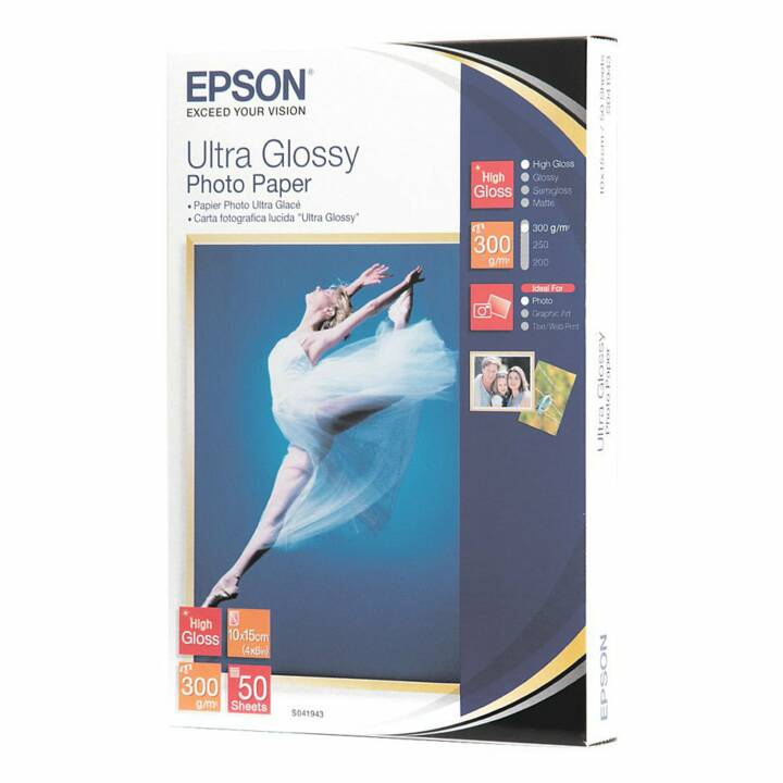 EPSON Ultra Glossy Papier photo (50 feuille)
