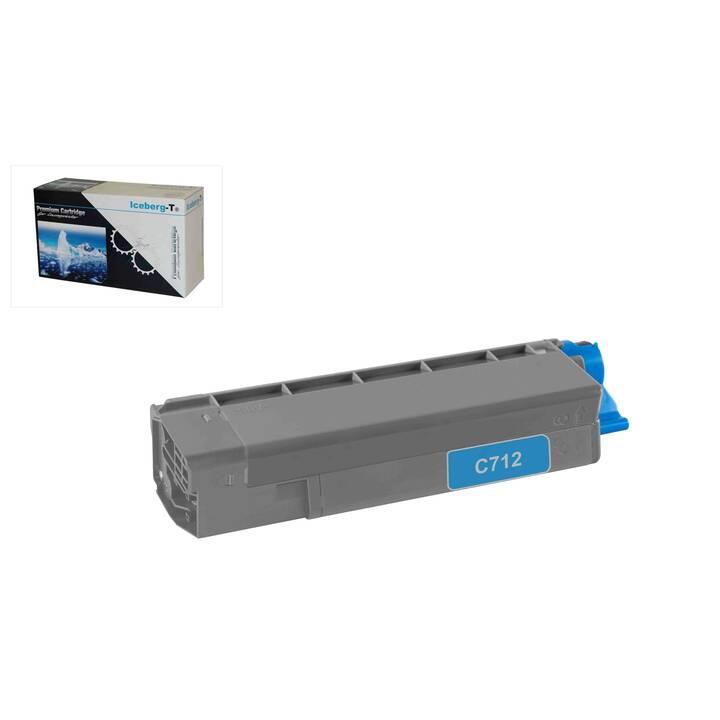 ICEBERG-T 46507615IC (Toner seperato, Ciano)