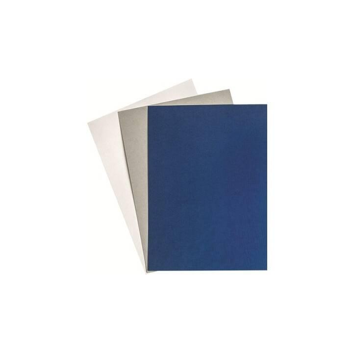 GOP Umschlagdeckel Leinenprägung A4, White, 100 Stück
