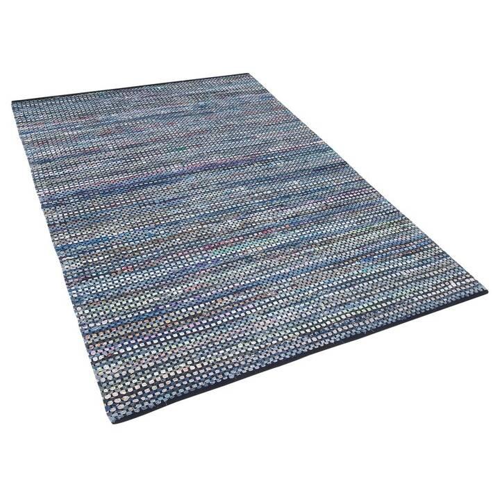 BELIANI Tapis Alanya (140 cm x 200 cm, Bleu)