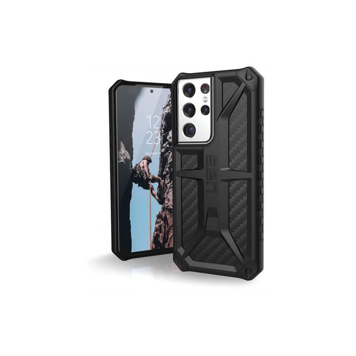 URBAN ARMOR GEAR Backcover (Galaxy S21 Ultra, Carbon)