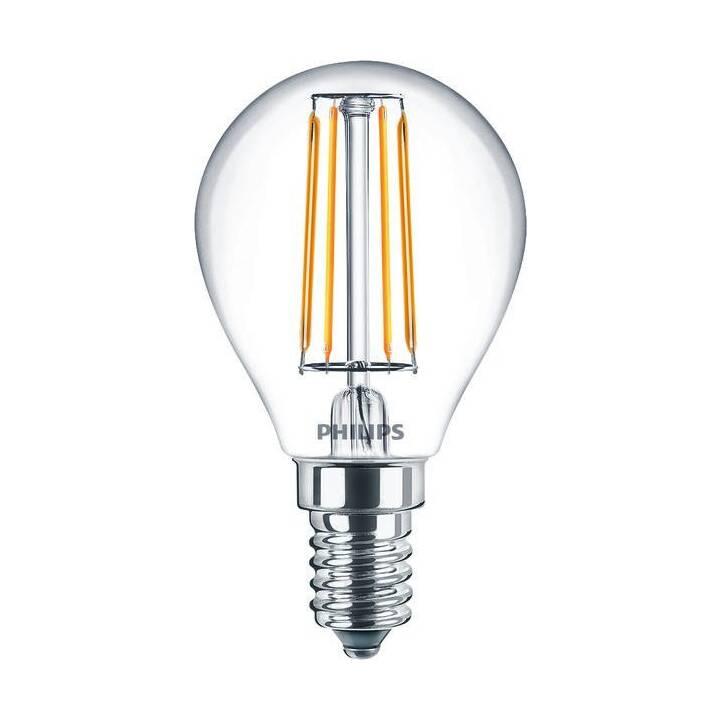 PHILIPS Classic LEDLuster Lampes (LED, E14, 4.3 W)