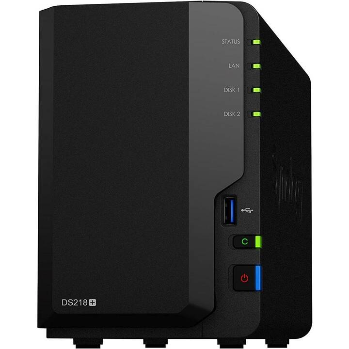 SYNOLOGY DS218+ 2bay Seagate Ironwolf (8 TB)
