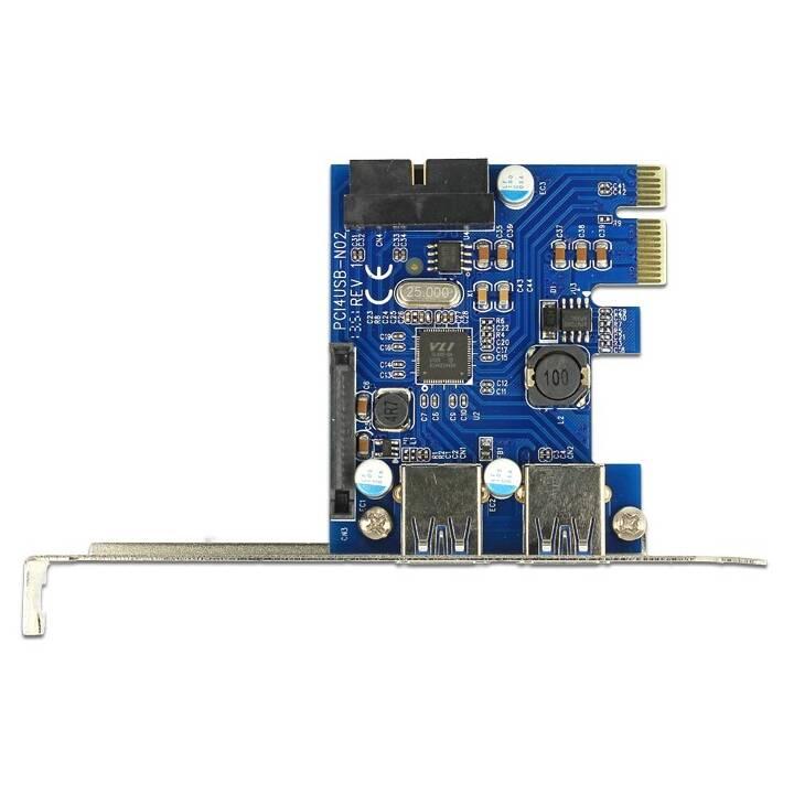 DELOCK Scheda PCIe, USB