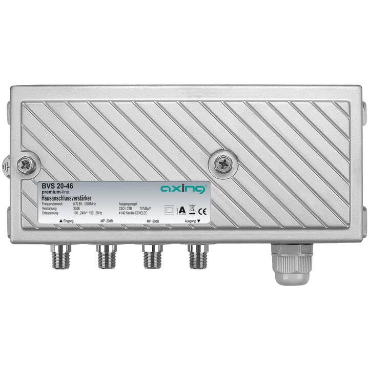 AXING BVS 20-46 Amplificateurs et répartiteurs (Gris)