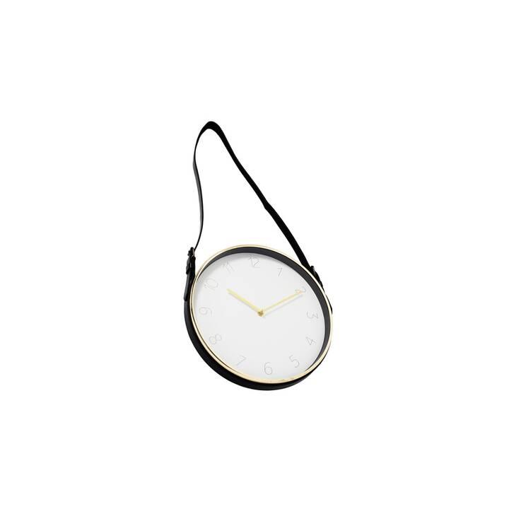 Boltze Wand-Uhr Center D31cm gold, eisen