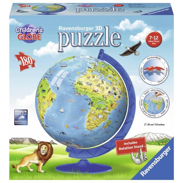 RAVENSBURGER Terre des enfants en anglais Puzzle 3D, 180 pcs.