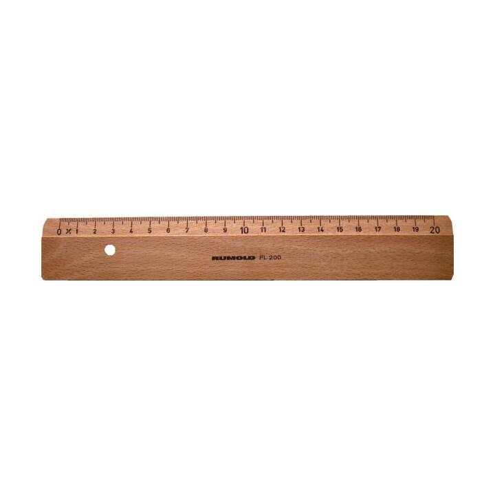 RUMOLD Flachlineal 20cm