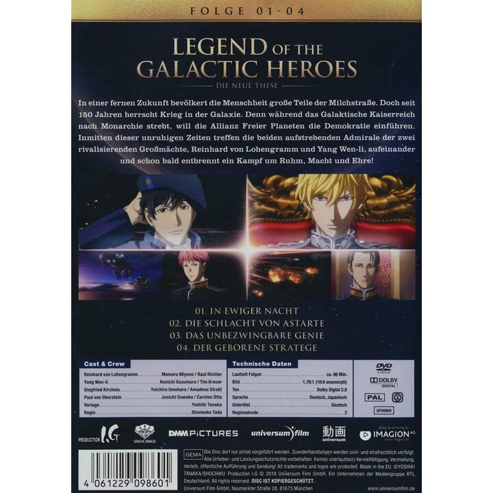 Legend of the Galactic Heroes - Die Neue These - Vol. 1 (JA, DE)
