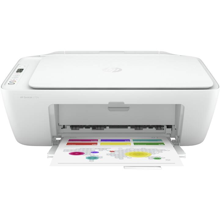 HP DeskJet 2724 All-in-One (Farbe, WiFi, Bluetooth)