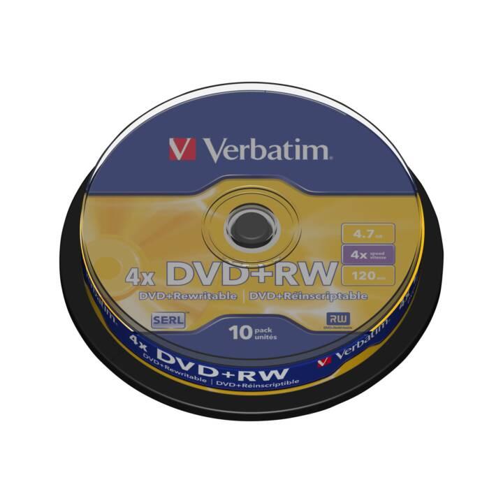 VERBATIM DVD+RW (120 Go, 4.7 Go)