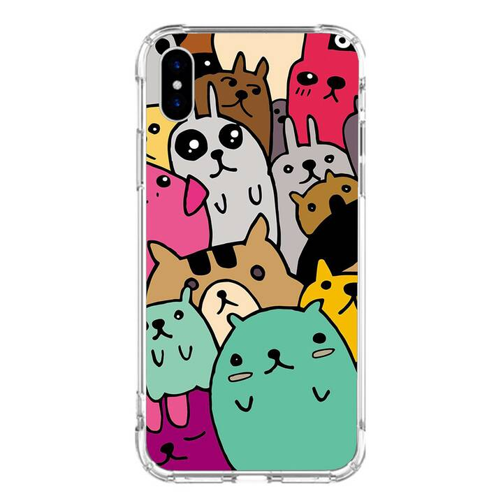 "EG MTT custodia per iPhone XS Max 6.5"" 2018 - cartone animato"