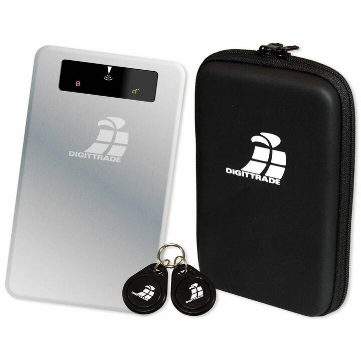 DIGITTRADE RS256 (USB 3.0, 4 TB, Argent)