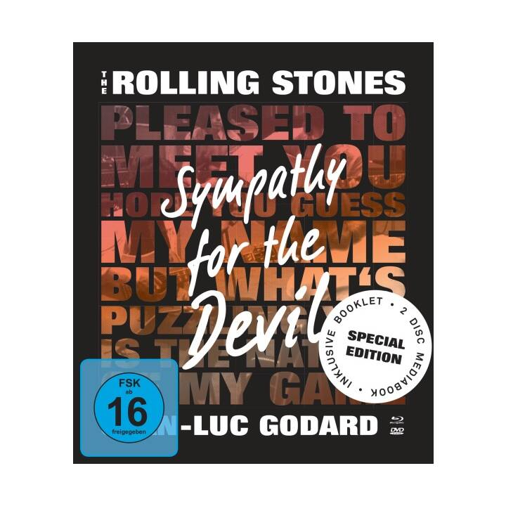 The Rolling Stones - The Rolling Stones - Sympathy For The Devil (Mediabook, EN)