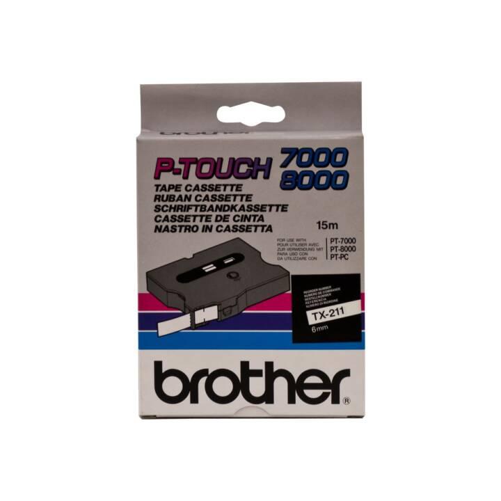 Nastro laminato BROTHER TX211